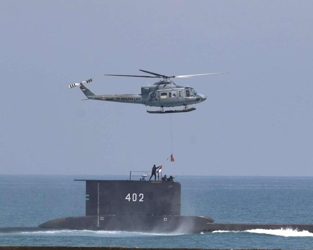 Indonesian Navy searches for missing submarine with 53 people on board
