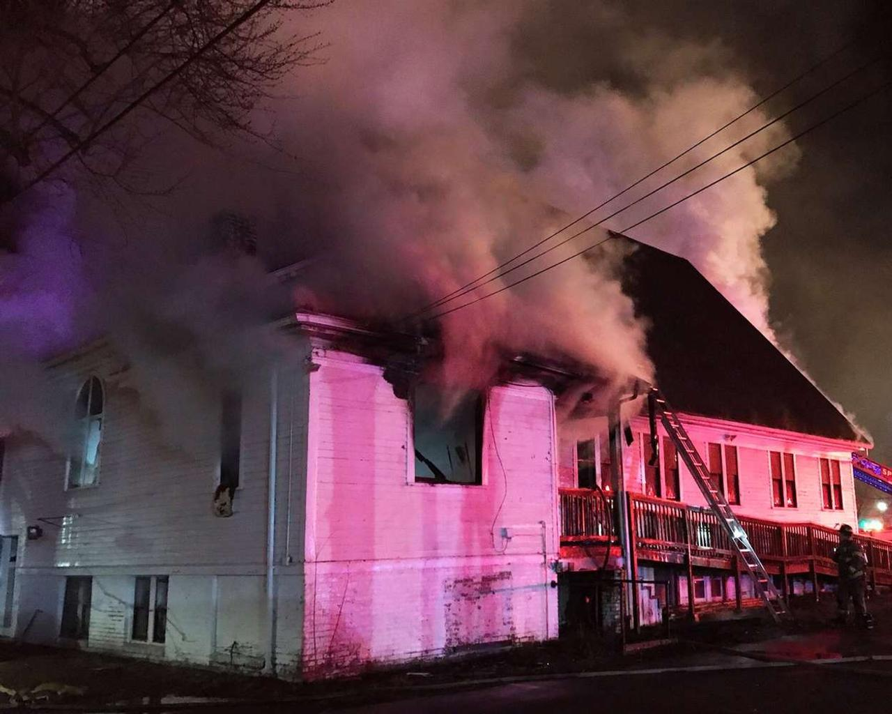 Man charged with hate crimes in burning of Black church