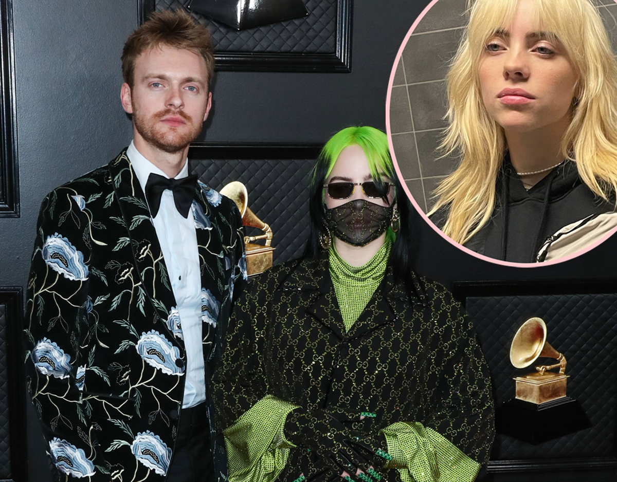 Finneas Dishes On Why Billie Eilish Got Rid Of Her Iconic Green Hair!