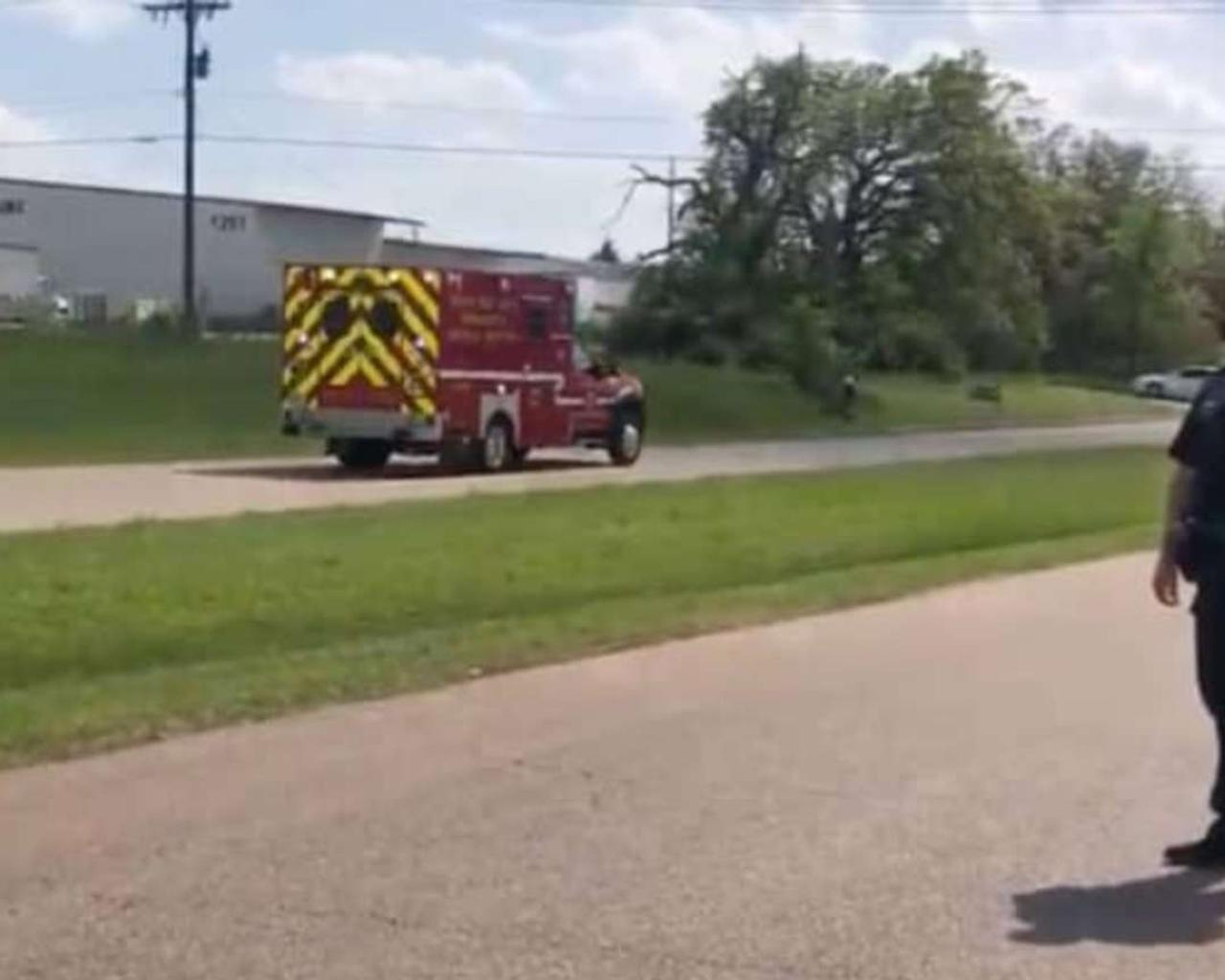 At least one person was shot, and five others were wounded in a firing at an industrial park in Texas.