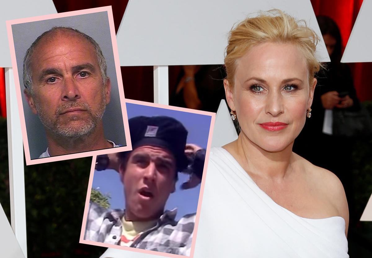 WHOA! Patricia Arquette's 'Awkward Date' Story Is A Freakin' Lifetime Thriller!