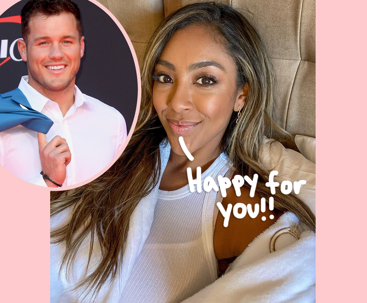 'Now It All Makes Sense': Tayshia Adams Reacts To Ex Colton Underwood Coming Out