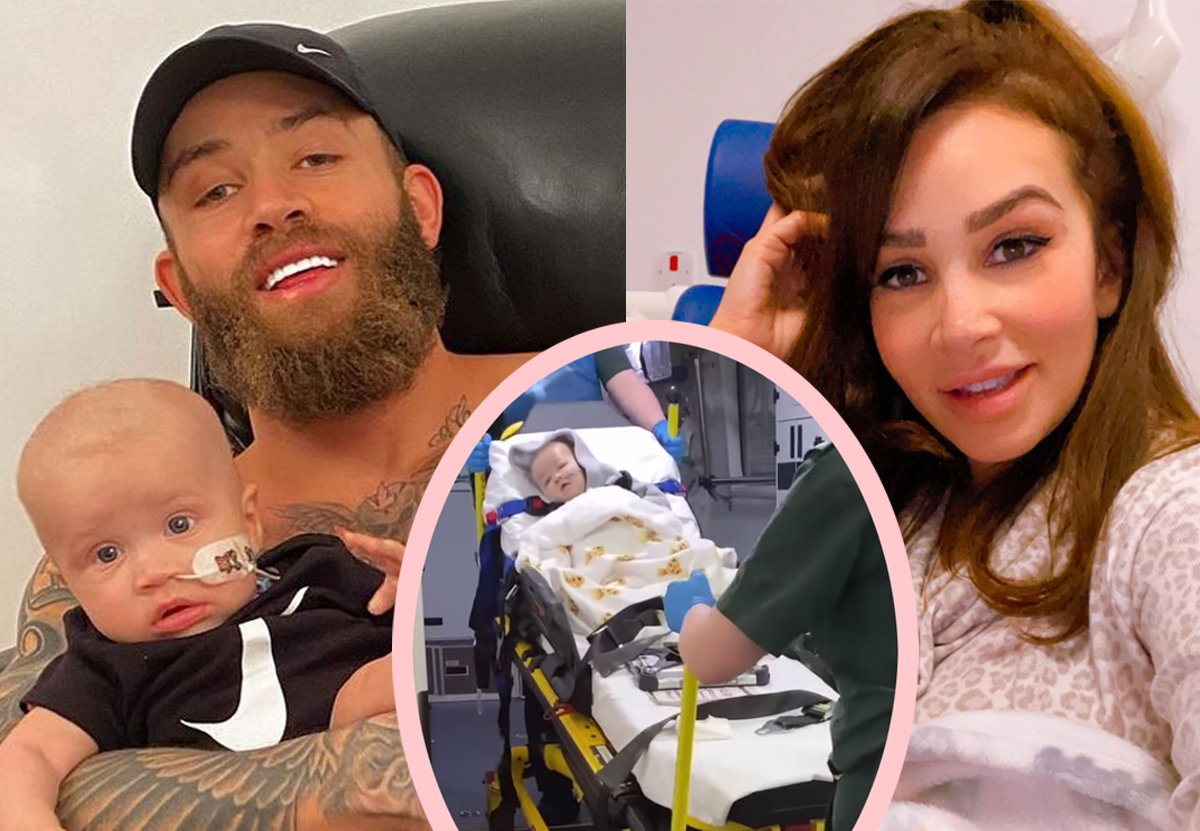 Ashley Cain's Daughter Azaylia Rushed To Hospital Again Shortly After Returning Home