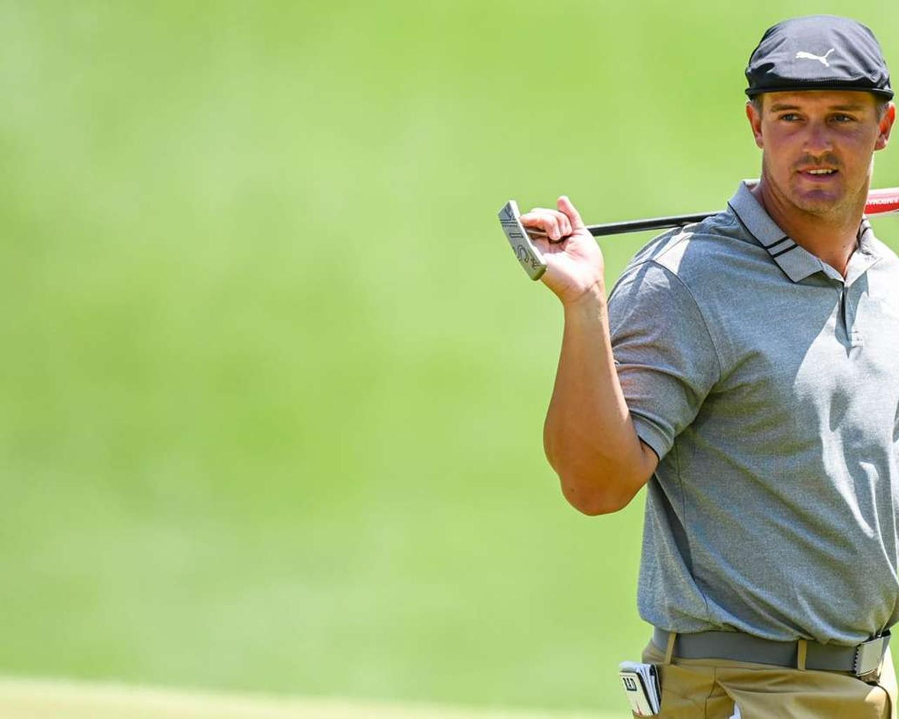 Bryson DeChambeau is looking for new lines at Augusta National with his new toy in hand.