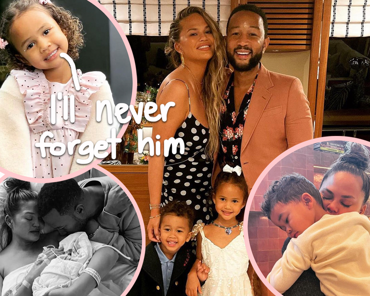 Chrissy Teigen's Daughter Luna Talks About Late Baby Brother Jack 'Every Day'