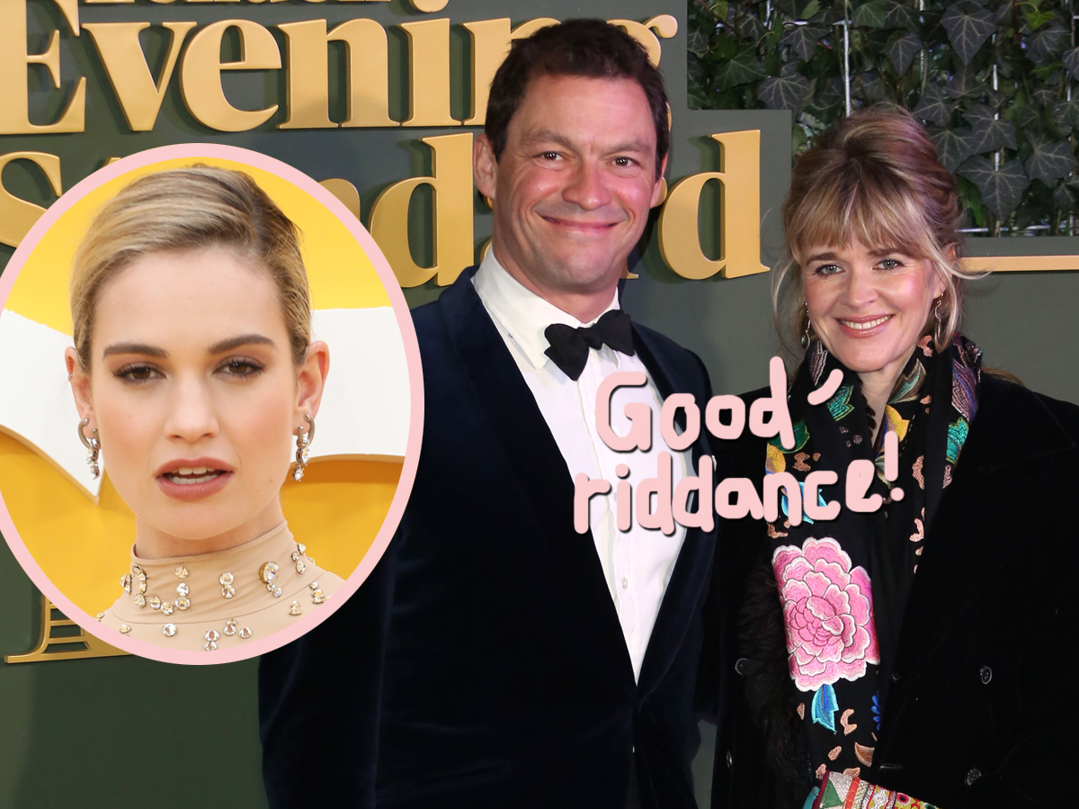 Dominic West's Wife Gave Him An Ultimatum About Lily James After Cheating Scandal!