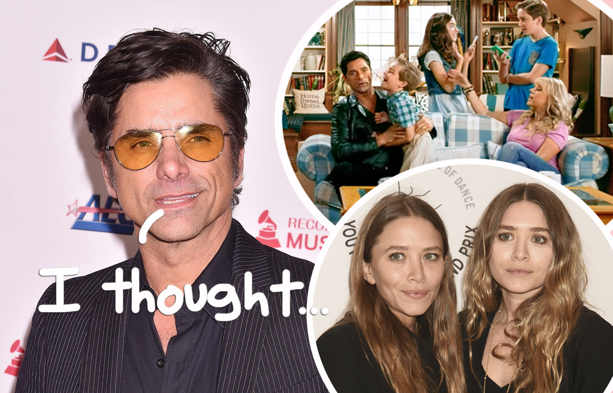 John Stamos Shares How He REALLY Feels About The Olsen Twins Refusing To Appear On Fuller House!