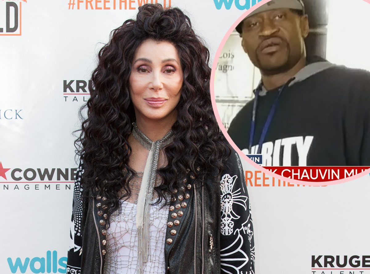 Twitter Slams Cher Over George Floyd Tweet: 'Maybe If I'd Been There, I Could've Helped'