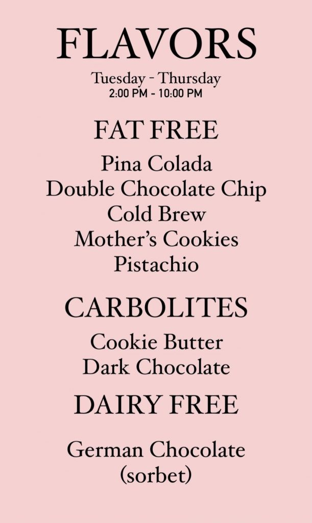 Frozen Yogurt Shop Appears To Troll Demi Lovato By Updating Menu With New Fat Free & Low Carb Flavors