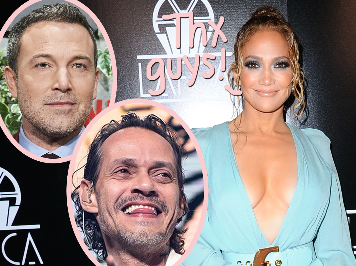 Jennifer Lopez's Exes Ben Affleck & Marc Anthony Are Casually Gushing Over Her… NBD!