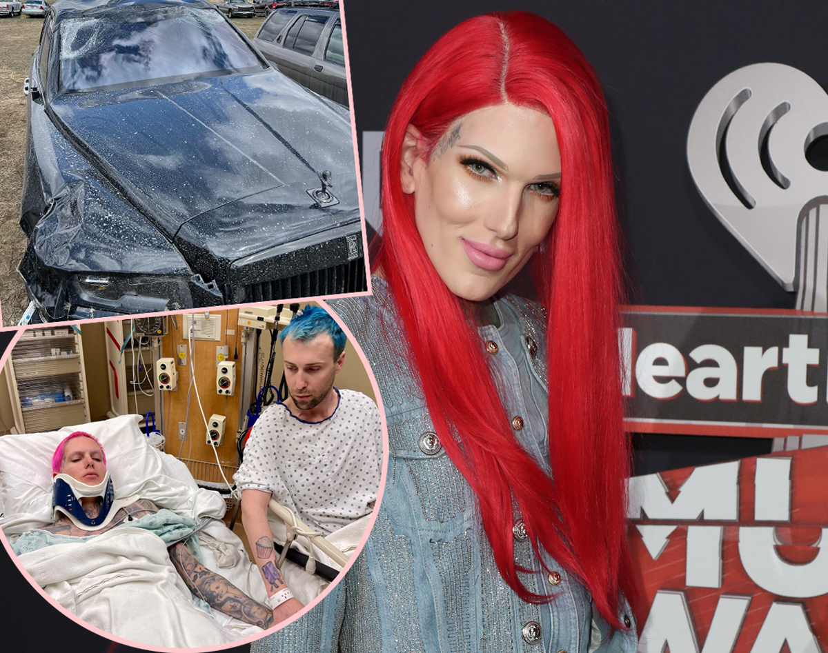 Jeffree Star Reveals He Has To Wear Back 'Brace For A Few Months' Following Severe Car Accident