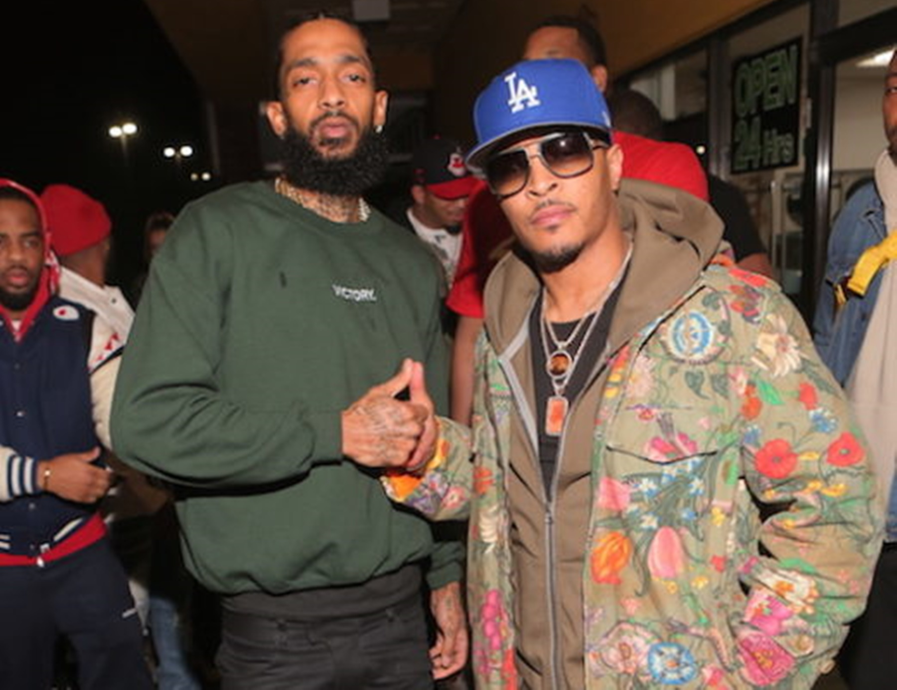 T.I. Remembers Nipsey Hussle – Check Out The Emotional Message He Shared