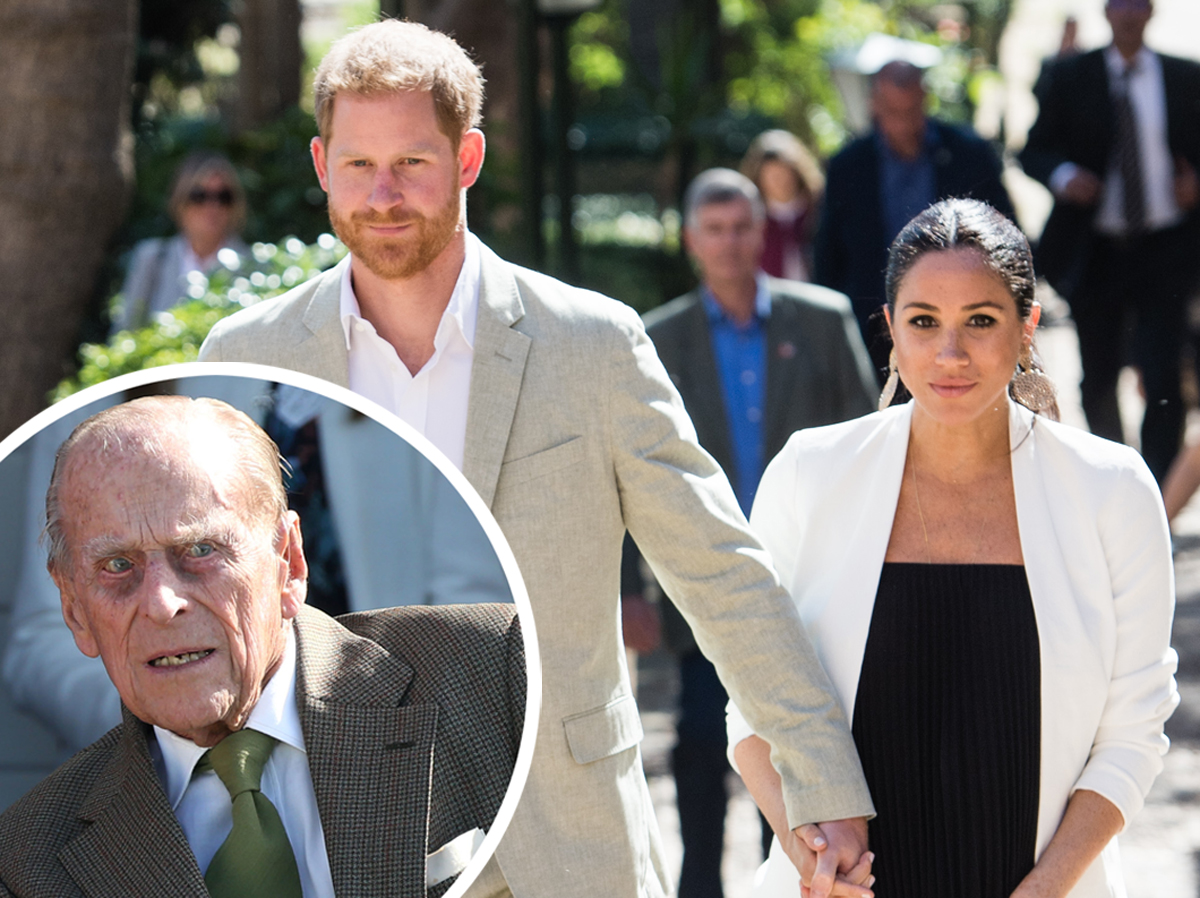 Here's Why Meghan Markle Will Not Attend Prince Philip's Funeral With Prince Harry