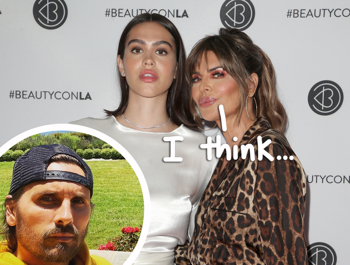 Lisa Rinna FINALLY Comments On Daughter Amelia Hamlin's Relationship With Scott Disick — But Does She Approve?