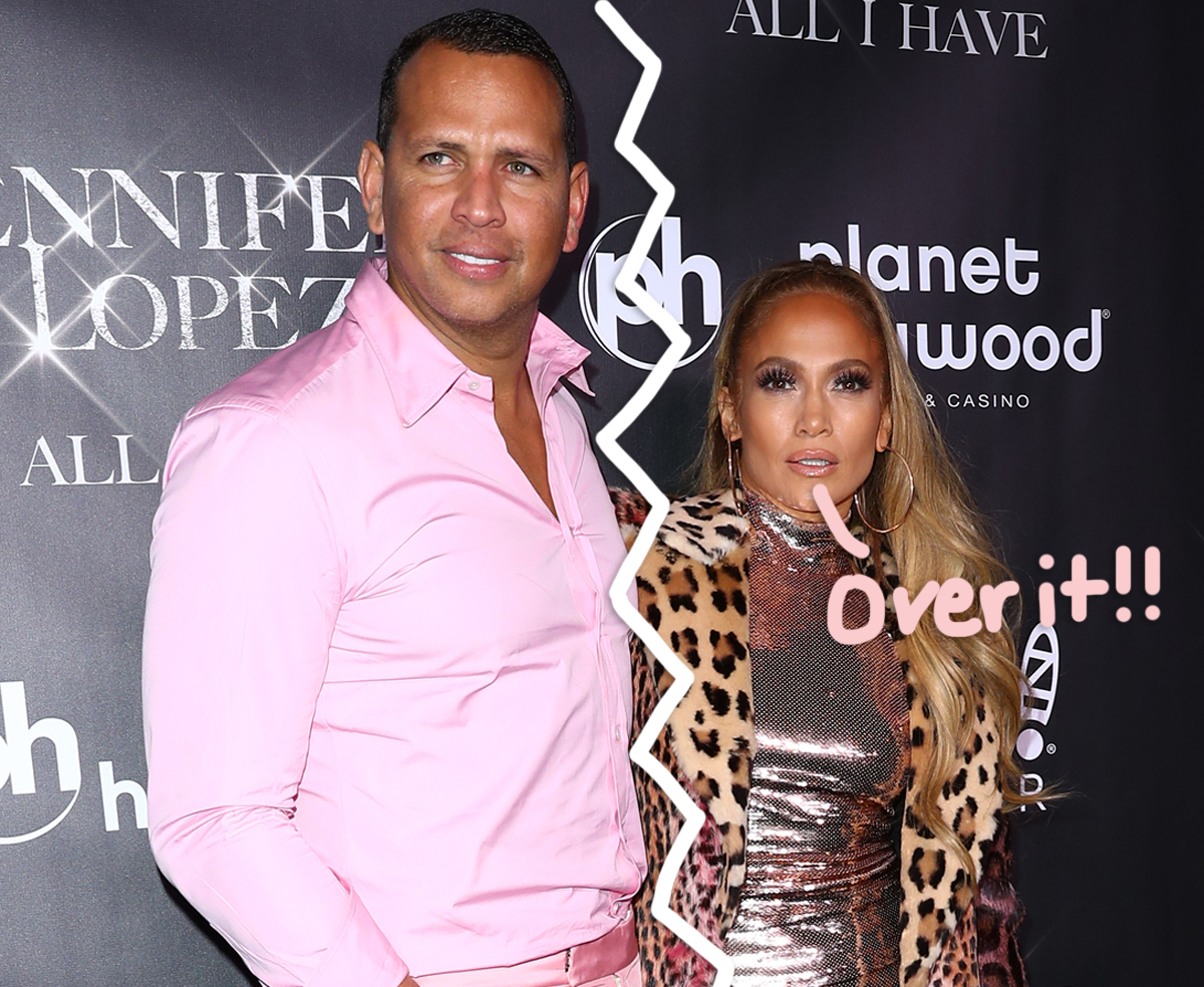 Here's Why Jennifer Lopez Called It Quits With A-Rod For Good — AND Why It Took So Long!