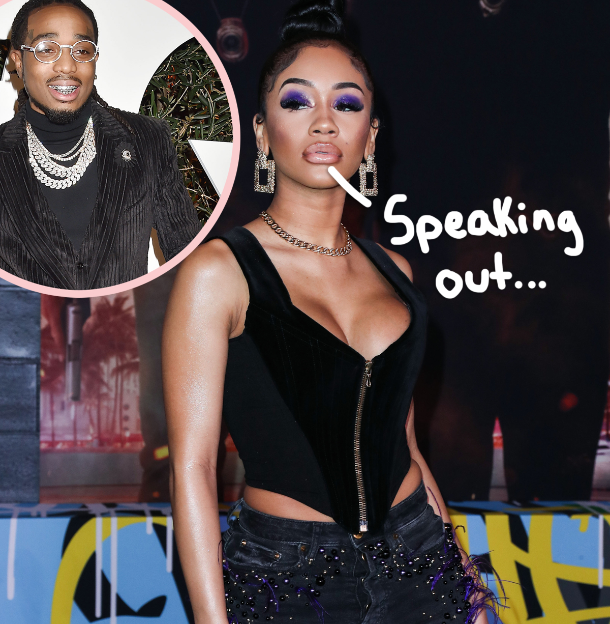 Saweetie Breaks Her Silence On Elevator Fight Video With Quavo