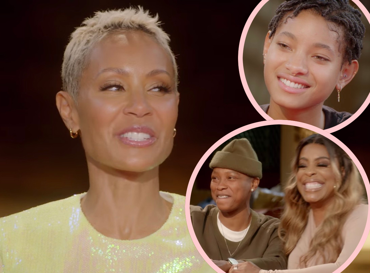 Jada Pinkett Smith & Willow Smith Talk Being Attracted To Women As Niecy Nash Shares Her 'Coming Out' Story