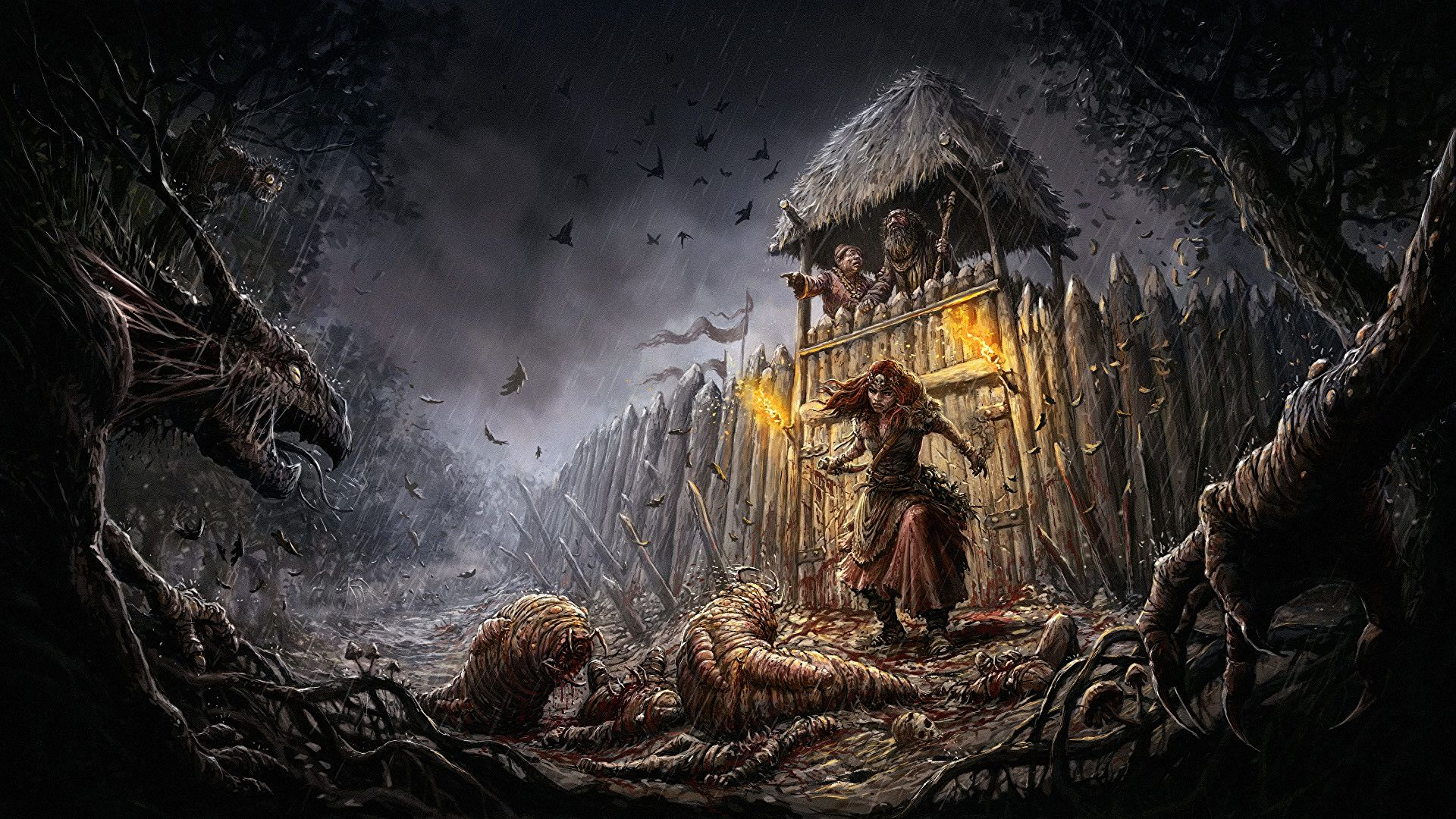 Gord is an upcoming dark fantasy strategy game inspired by grim Slavic folklore