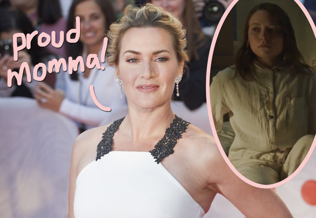 Surprise! Kate Winslet's Daughter Is Already Starring In Movies — Under A Different Name!