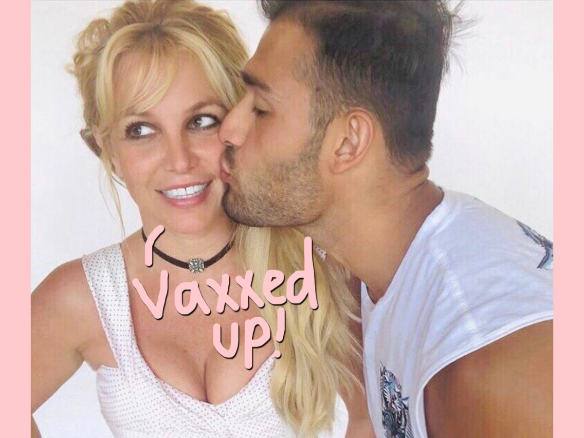 Britney Spears Got Her COVID Vaccine With BF Sam Asghari! See Her Reaction!