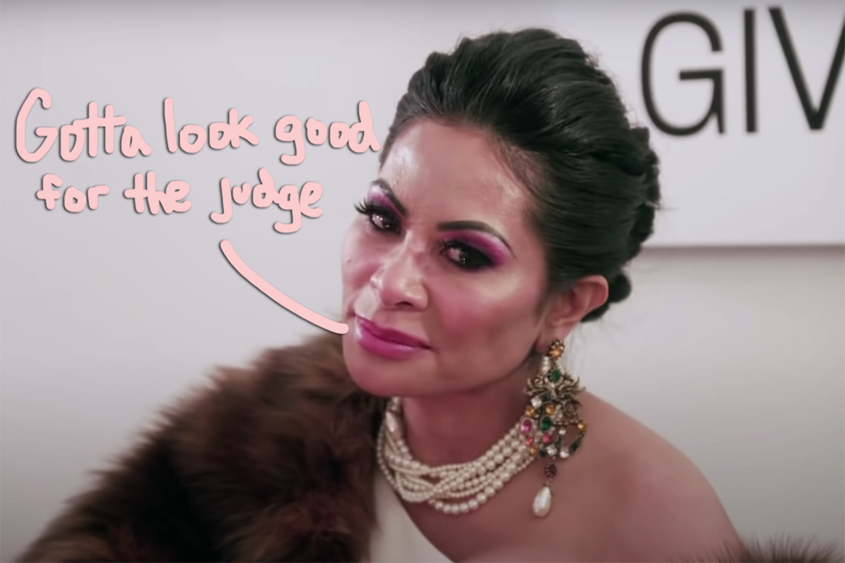 RHOSLC's Jen Shah Pleads Not Guilty To Fraud Charges After Getting Glammed Up For The Arraignment!