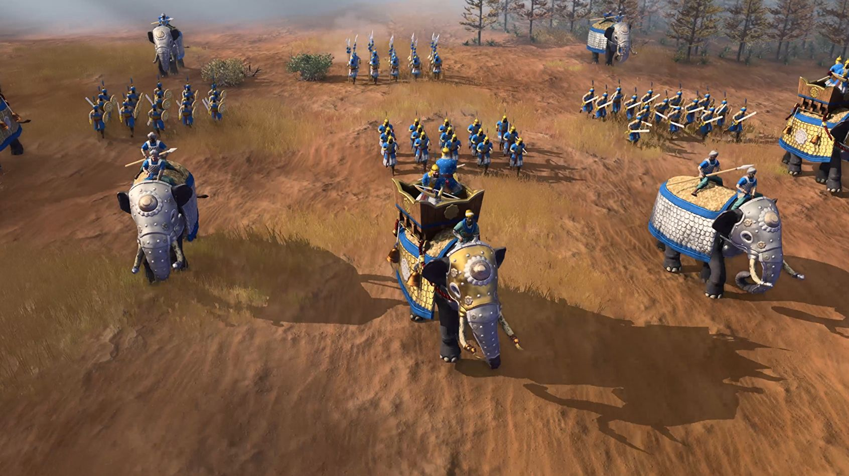 Age Of Empires 4 looks like it's got the right balance between old and new. And Elephants.