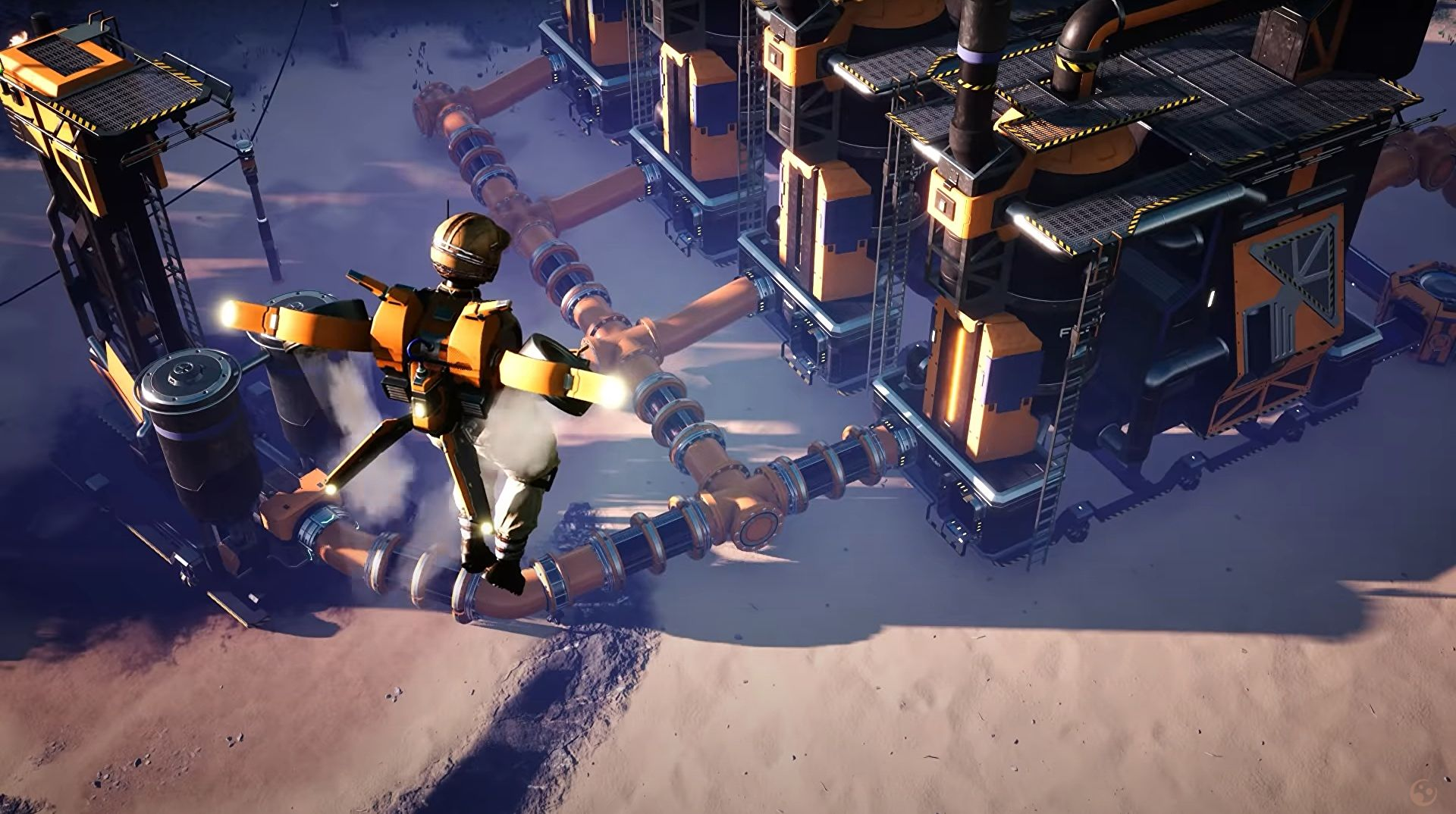 Satisfactory update 4 is out, adds hoverpacks and particle accelerators