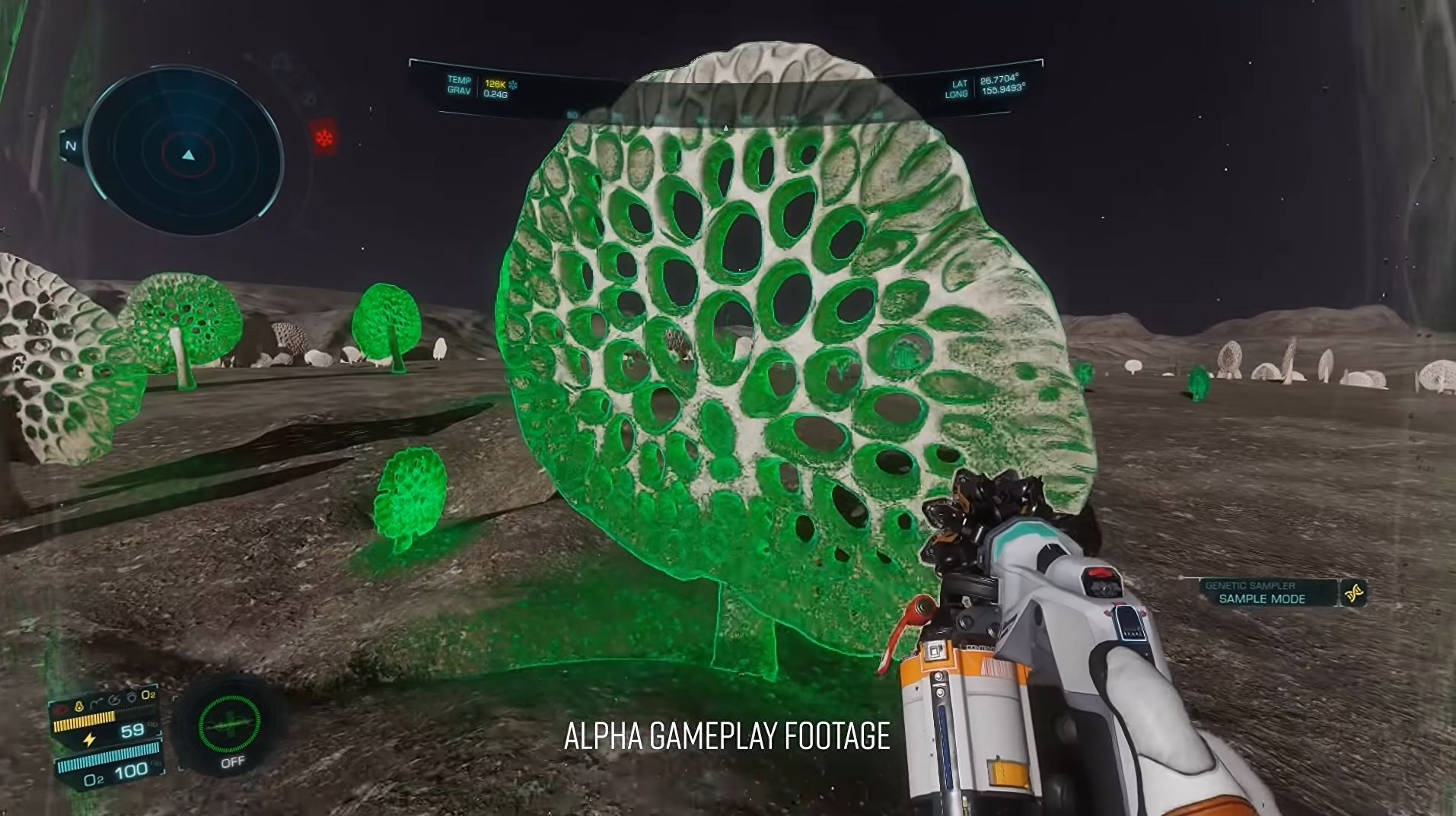 Elite Dangerous: Odyssey is now letting alpha players scan space plants