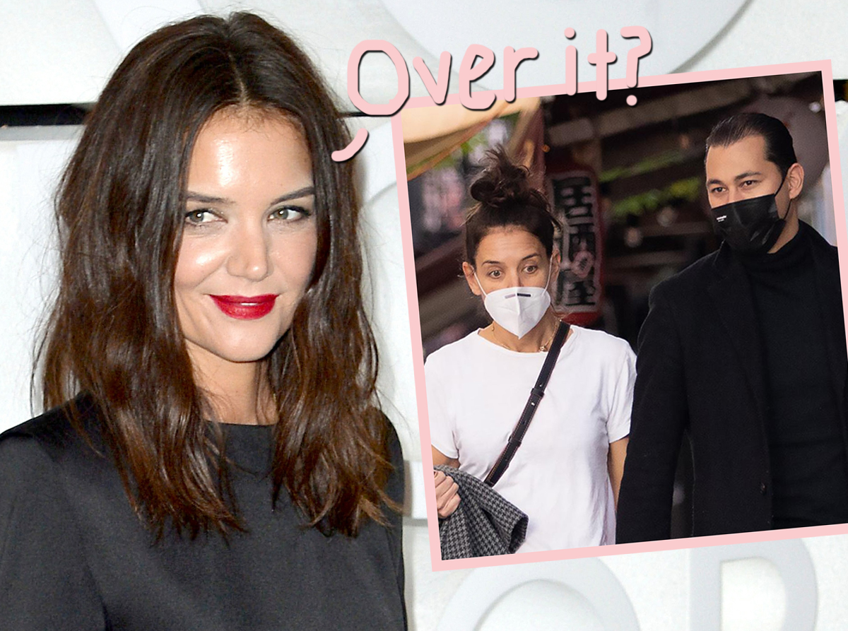 Katie Holmes & Her Controversial Boyfriend Are Just About DUNZO!