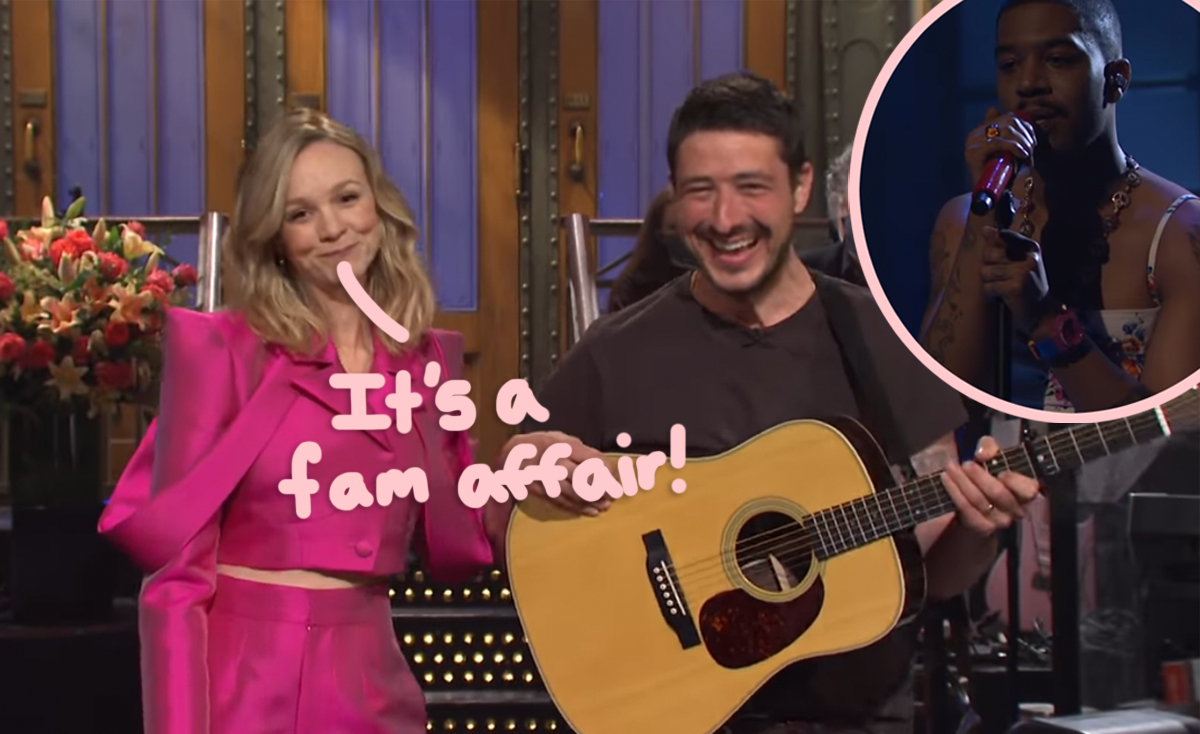 Carey Mulligan's Husband Steals The Spotlight As Kid Cudi Honors Kurt Cobain & Chris Farley In Style: Here Are The Highlights From SNL!
