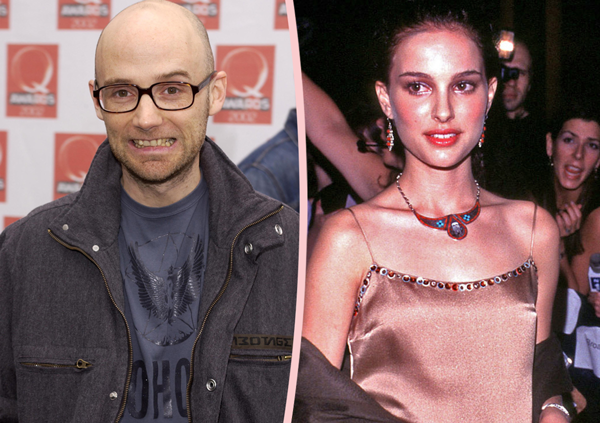 Moby Finally Addresses That Time He Got 'Creepy' With Teenage Natalie Portman