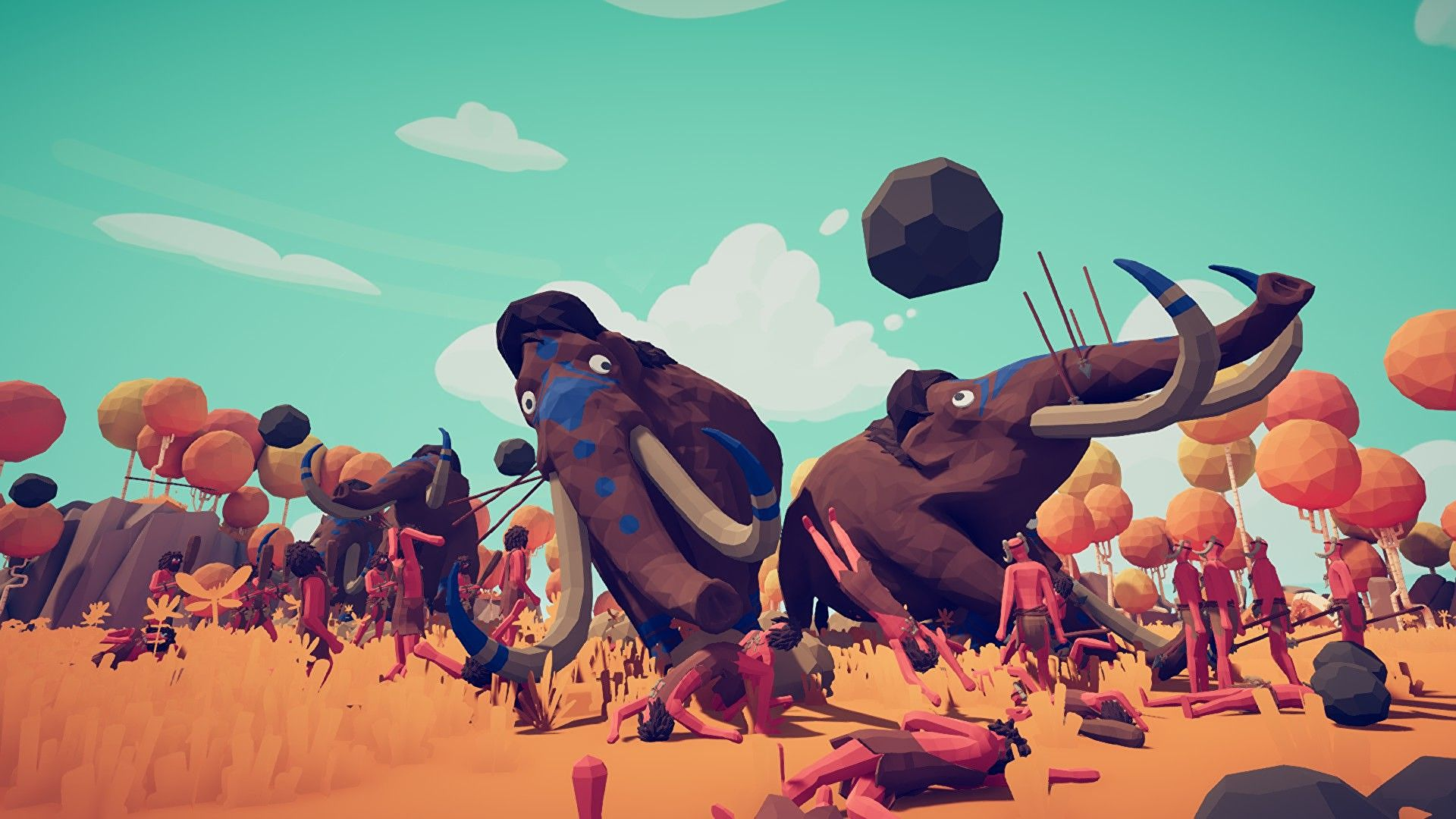 Totally Accurate Battle Simulator added multiplayer and left early access