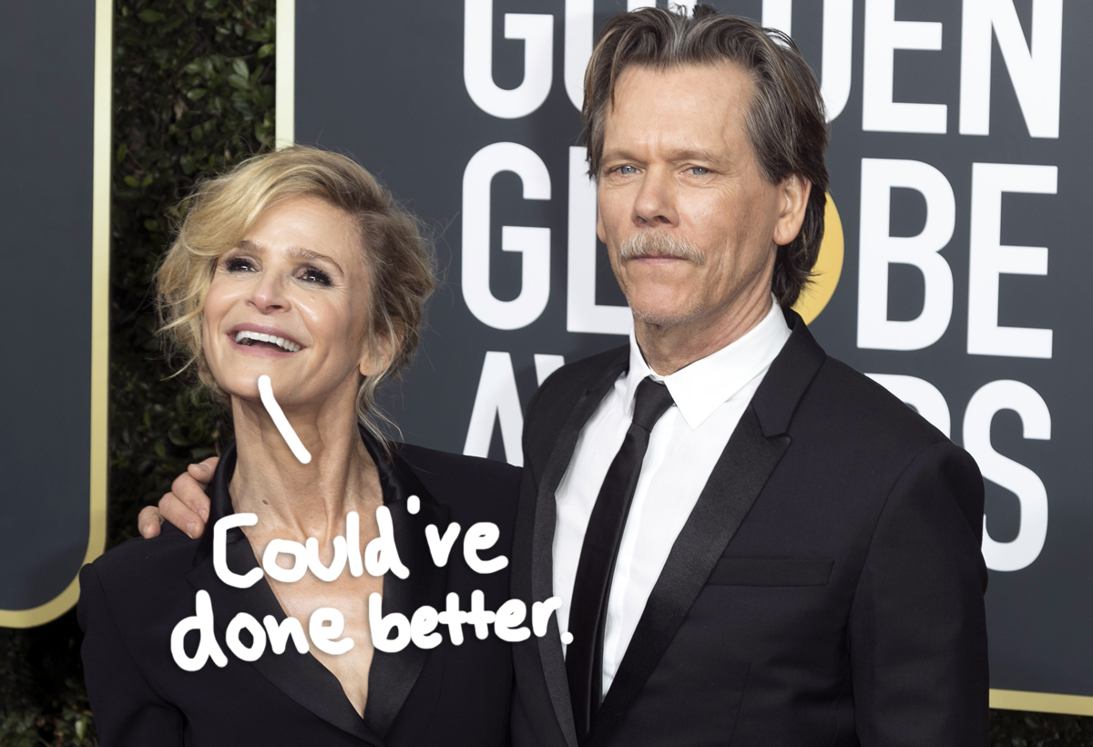 Kyra Sedgwick HATED The Engagement Ring Kevin Bacon Originally Bought Her!