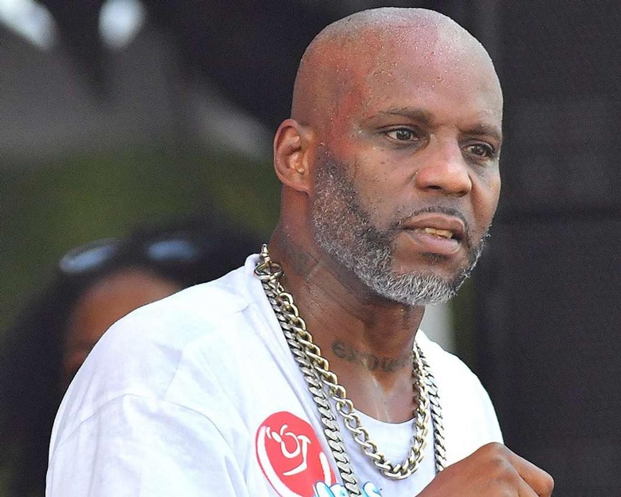 DMX, a dark-skinned rapper and actor, dies at the age of 50