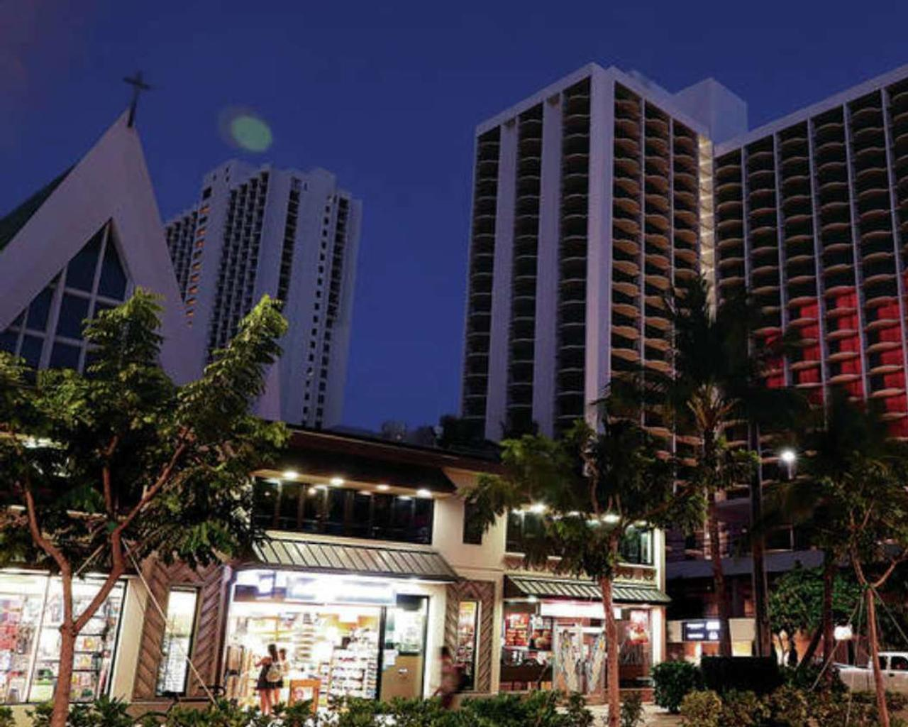 The stand at the Honolulu hotel is coming to an end after the death of an armed man