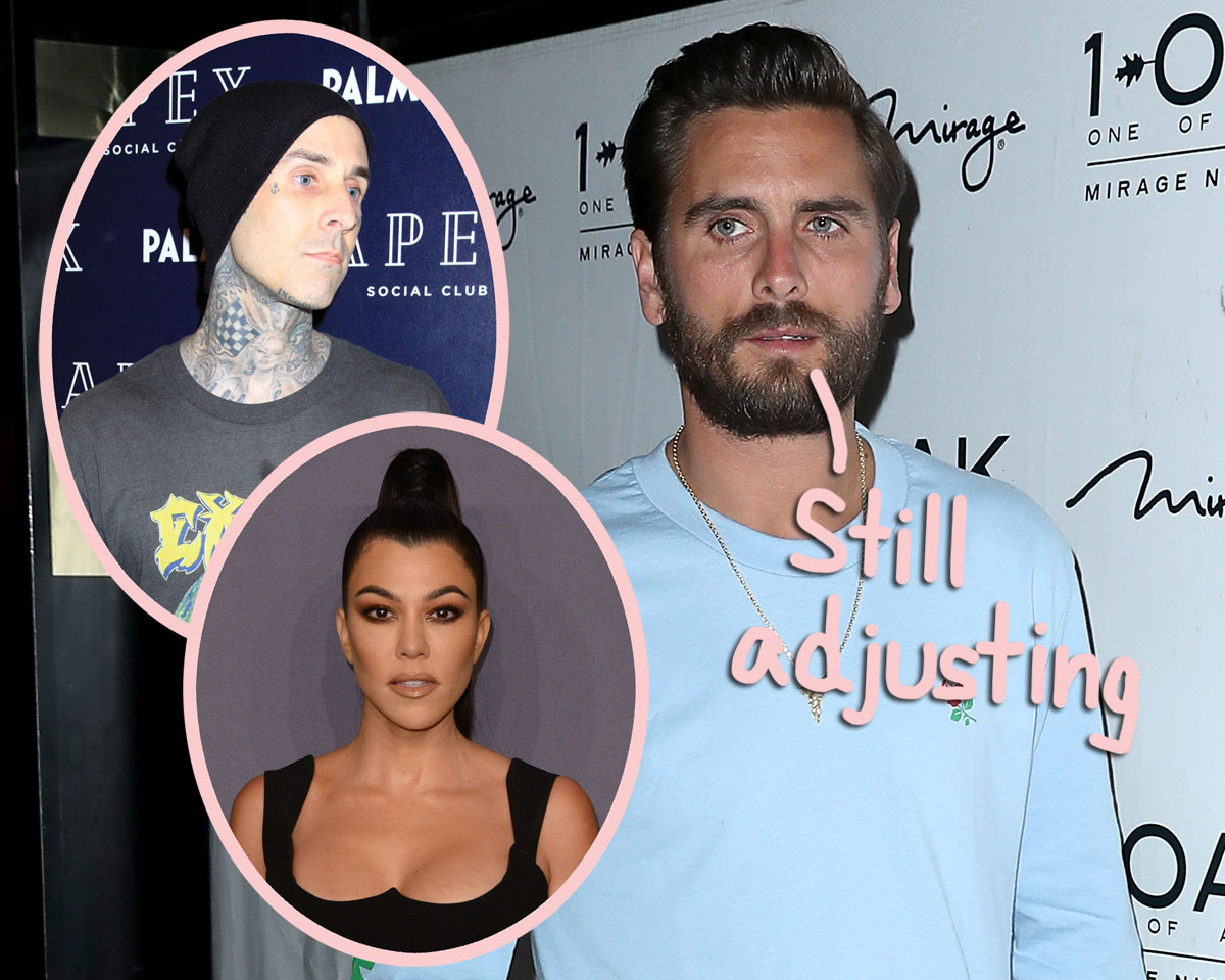 Trouble In Co-Parenting Paradise?! Scott Disick Is 'Still Trying To Get Used' To Kourtney Kardashian's New Man!