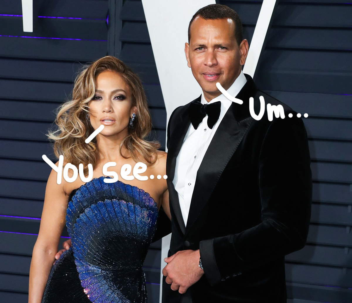 Jennifer Lopez Ditches Engagement Ring In New Pics -- Is She Officially Done With A-Rod?!