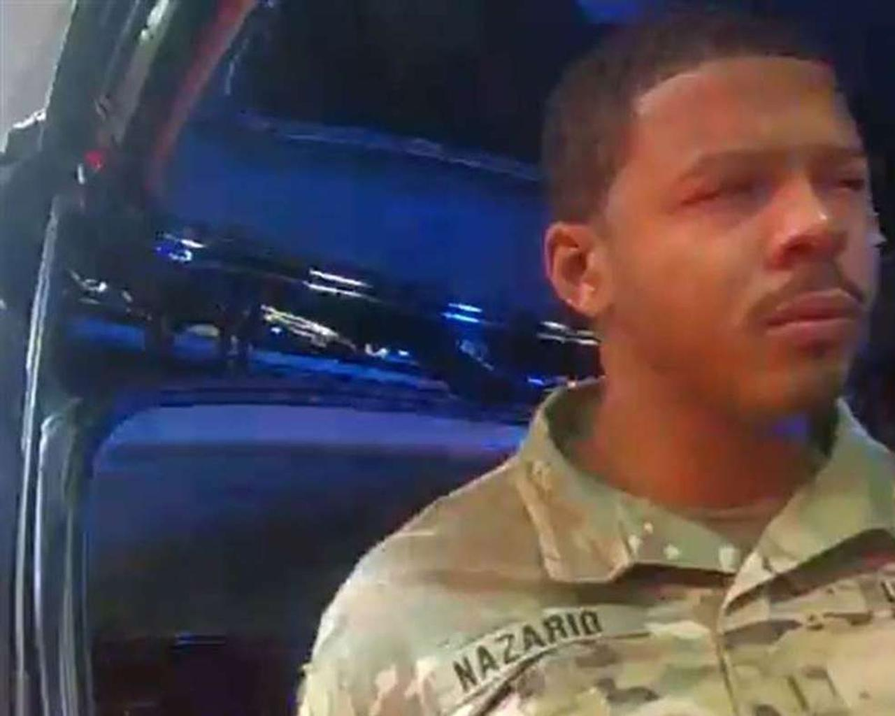 Virginia police officer fired after Black Army lieutenant sprayed pepper and handcuffed during a parking lot