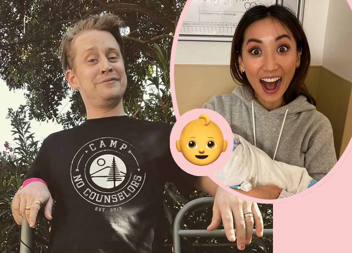 SURPRISE! Macaulay Culkin & Brenda Song Had A Baby — And The Name Is A Heartwarming Tribute!