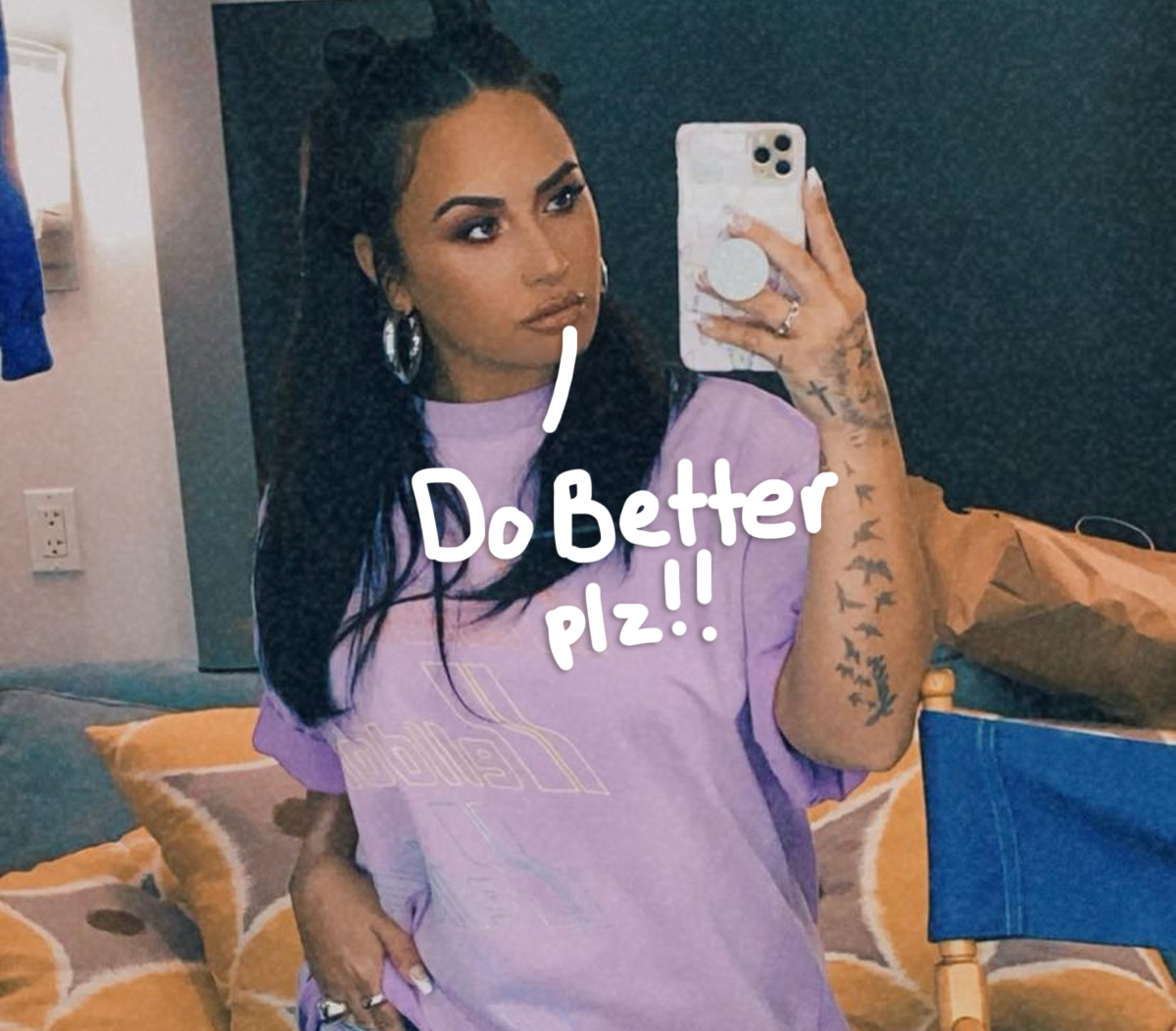 Hold Up, Is Demi Lovato Feuding With A Yogurt Shop For Having Sugar-Free Options?!