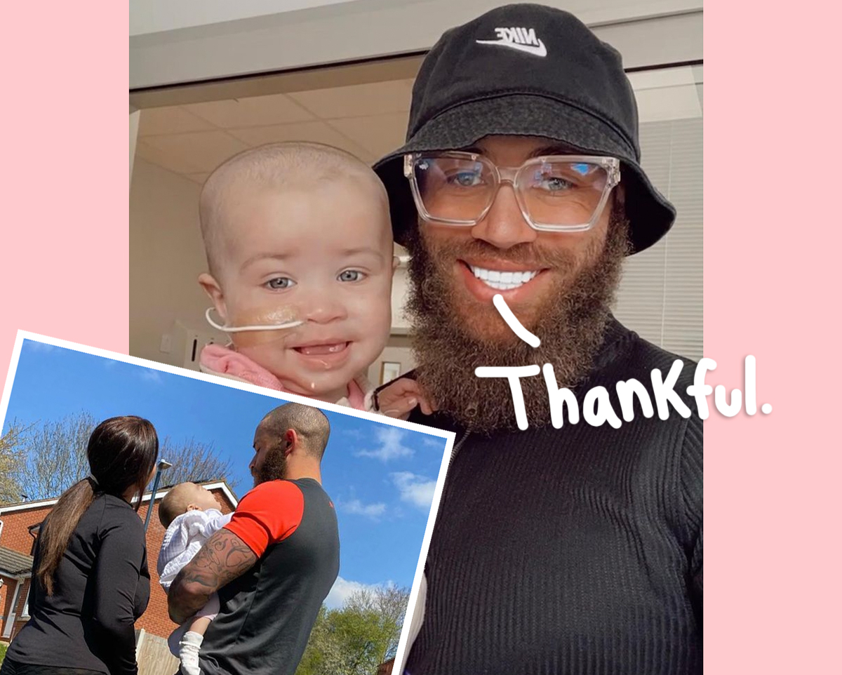 Ashley Cain Feels 'Scared' For Daughter Azaylia & 'Overwhelmed' By The Support Amid Her Cancer Battle