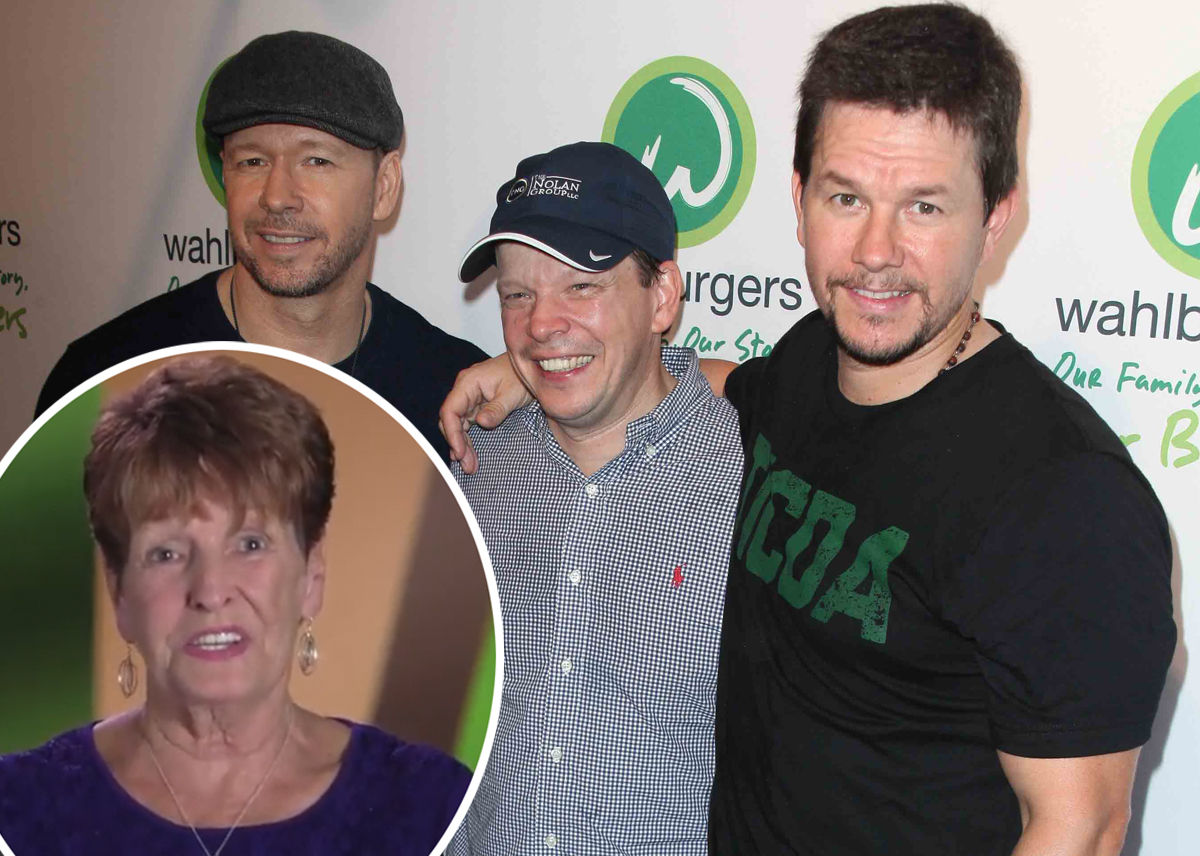 Mark & Donnie Wahlberg Mourn Death Of Their Mother Alma