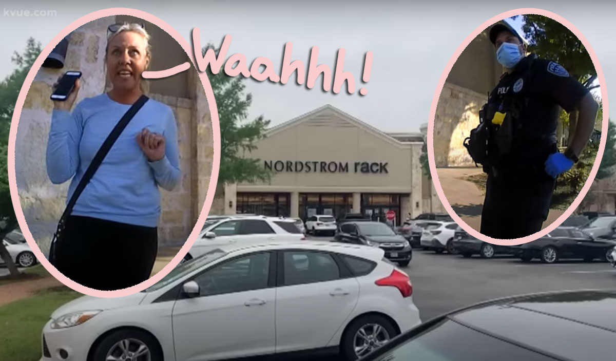Texas School Board Karen Can't Even Finish Her Anti-Mask Rant Before Getting Arrested!