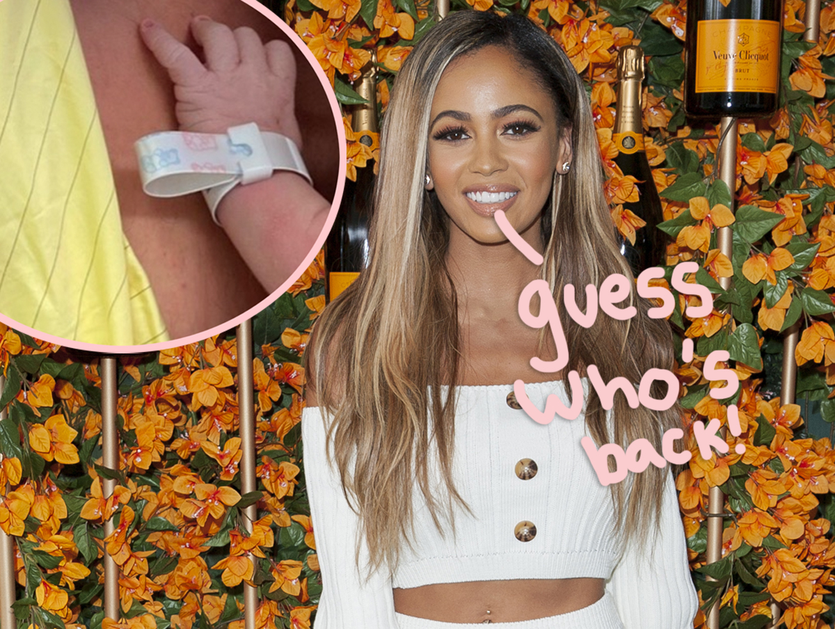 Vanessa Morgan Stops By Pops Diner With Baby River As She Returns To Riverdale From Maternity Leave!