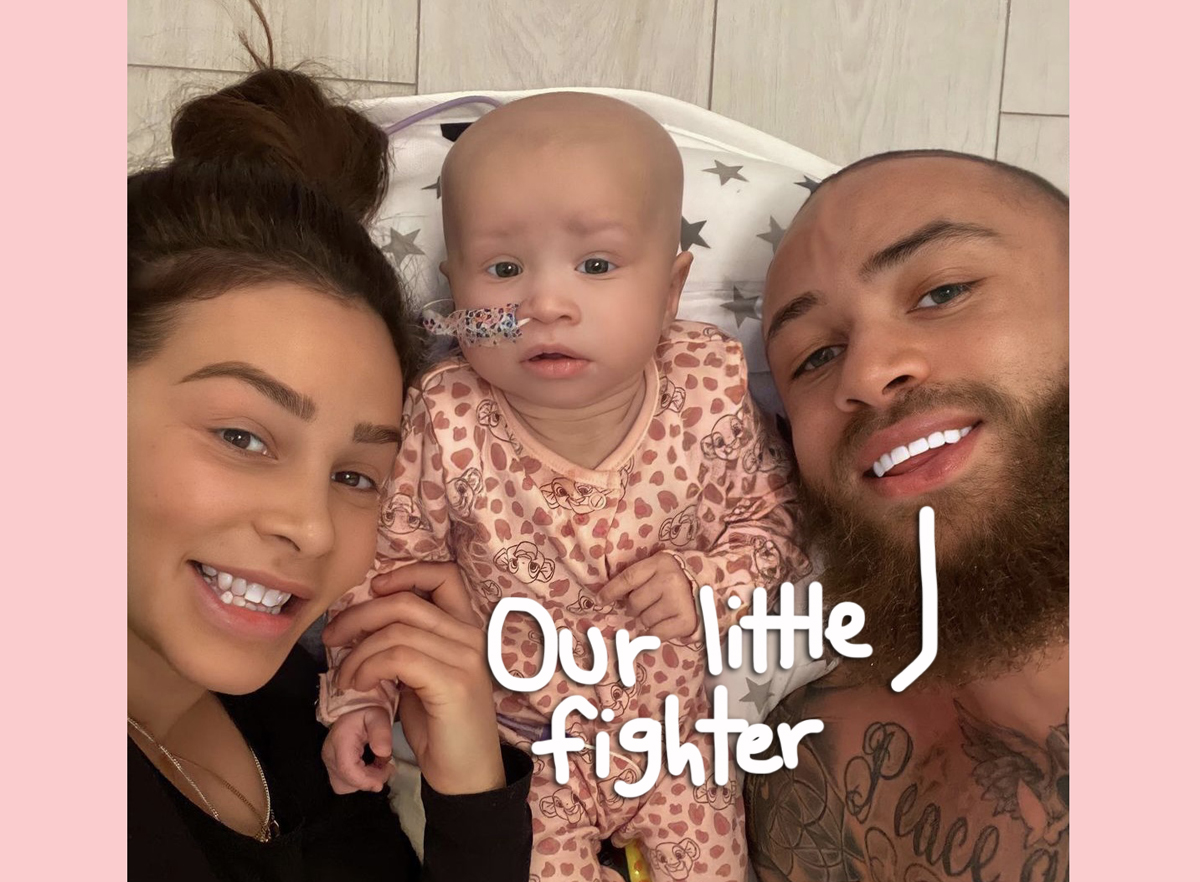 The Challenge's Ashley Cain Says Daughter Has 'Days To Live' Following Discovery Of Multiple Tumors