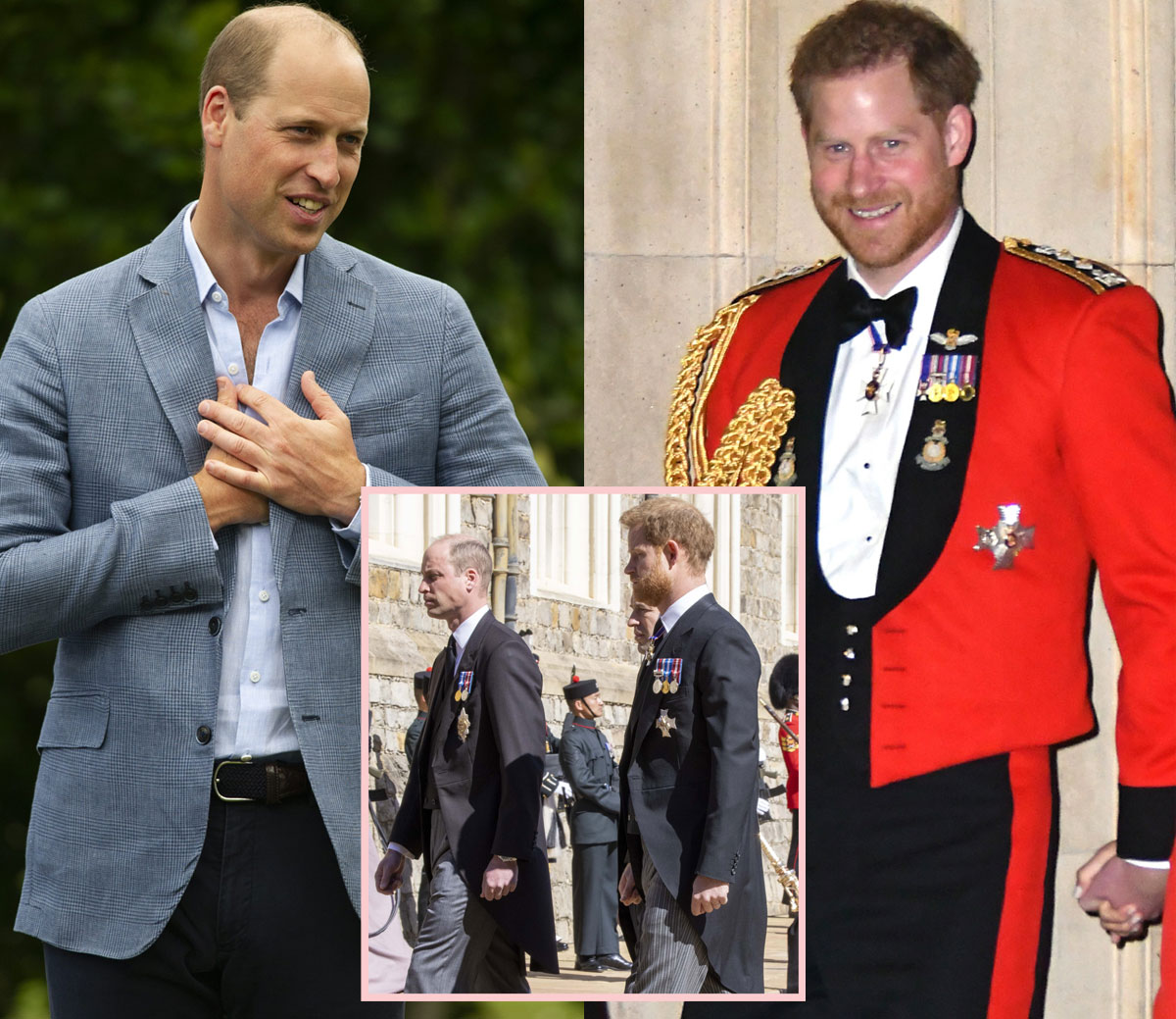 Prince William & Prince Harry During Prince Philip's Funeral — How Did They Manage?