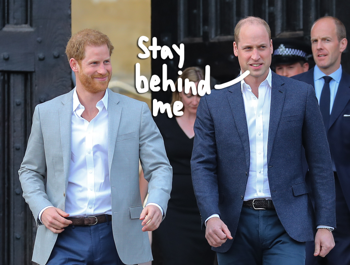 Oof! Bad Sign For Those Hoping Prince William & Harry Would Reconcile!