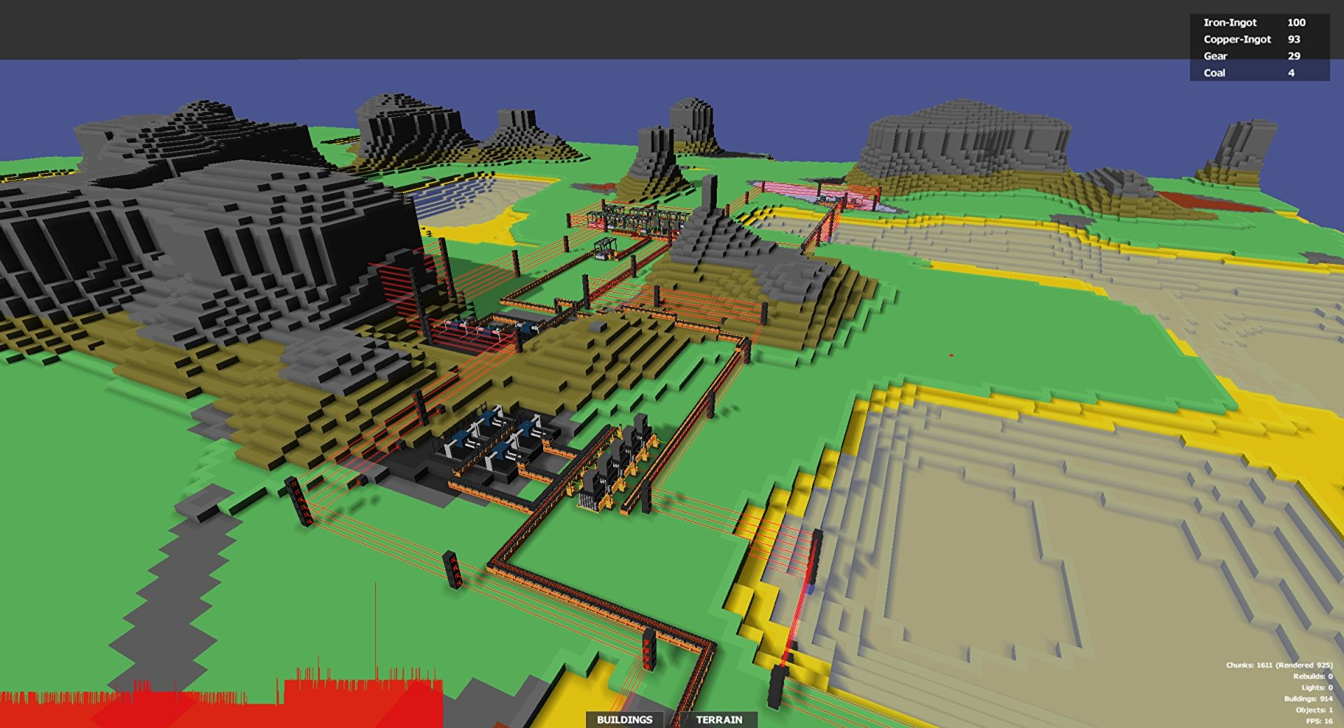 Prison Architect's developers almost made a 3D Factorio in 2017