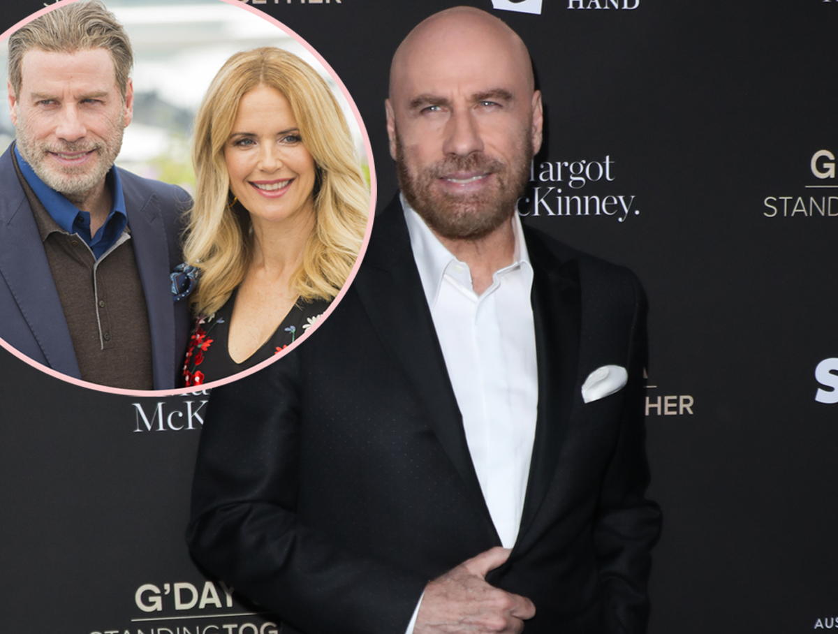 John Travolta Details His 'Mourning' Period Following The Death Of Wife Kelly Preston