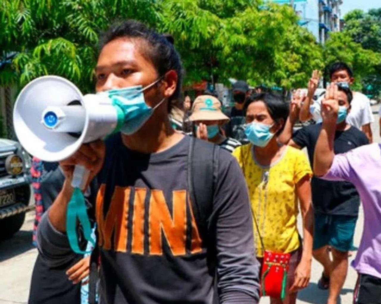 Over 80 demonstrators have been killed by Myanmar security forces using rifle grenades, according to a monitoring group.